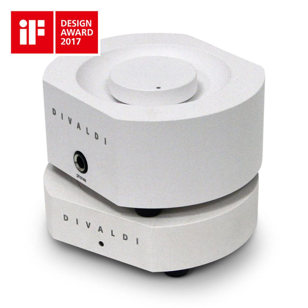 HEADPHONE AMPLIFIER AMP-02 WHITE