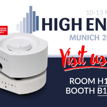 HIGH END FAIR IN MUNICH COMING SOON!